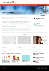 OneExchange on TowersWatson.com